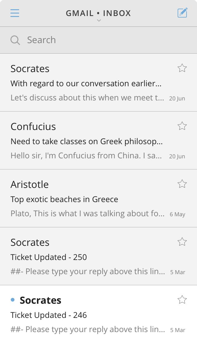CloudMagic - Simple inbox
