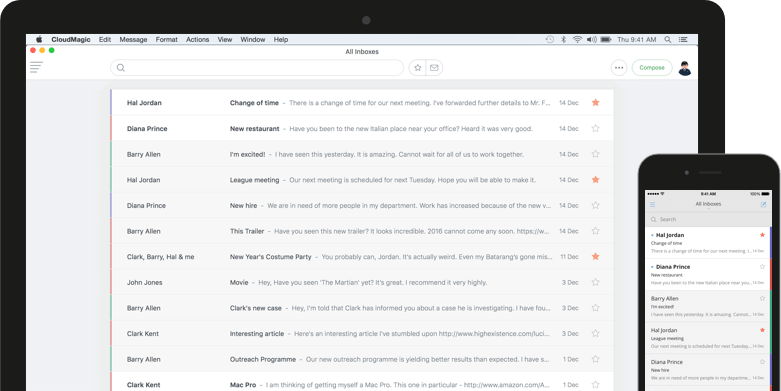 The email app that's simple, beautiful and blazing fast
